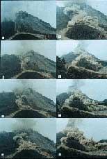 Slide Sets Unzen Volcano 1991 93 Eruption